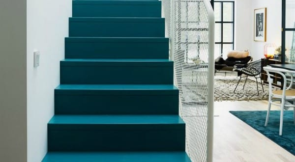 farbrausch sch ner wohnen blaue treppenstuffen freshouse. Black Bedroom Furniture Sets. Home Design Ideas