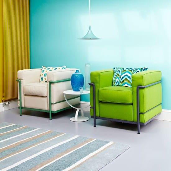 farbrausch sch ner wohnen sessel in gr n freshouse. Black Bedroom Furniture Sets. Home Design Ideas