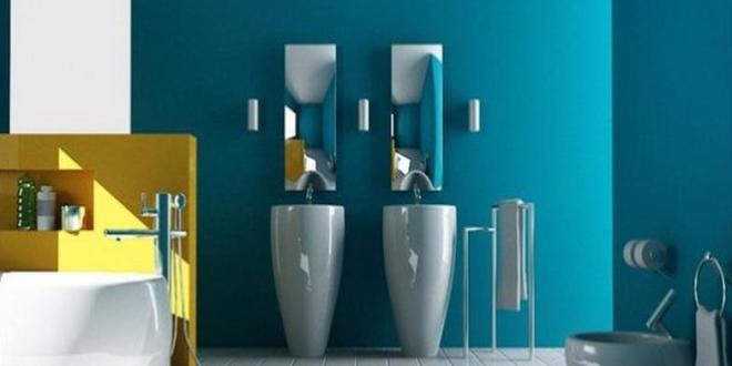 Schöner Wohnen Badezimmer - farbenfrohe Badezimmer Ideen ...