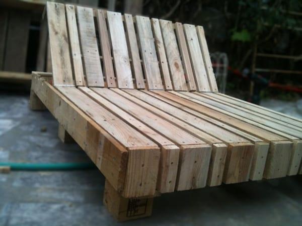 Holzliege garten  holzliege aus palleten - fresHouse