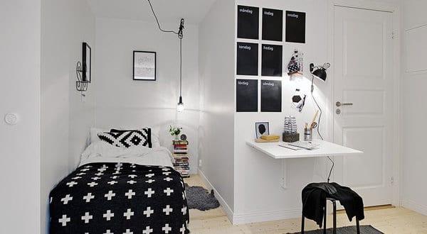 Sehen Sie Wie Ein Kleines Schlafzimmer Gestaltet Werden Kann Freshouse