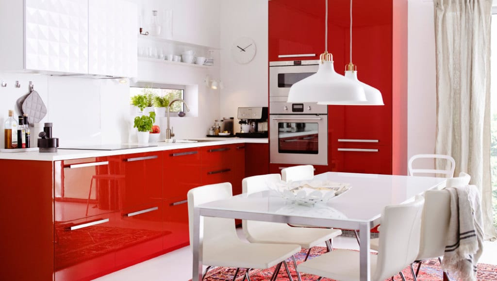 ikea küche-rot - freshouse