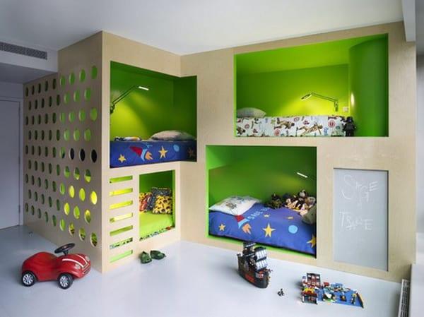 Kinderzimmer Grun 4 Bett Kinderzimmer Freshouse