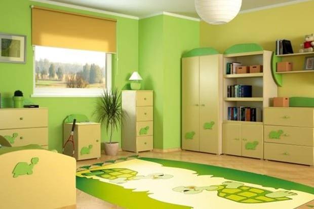 kinderzimmer grün einrichten - freshouse, Design ideen