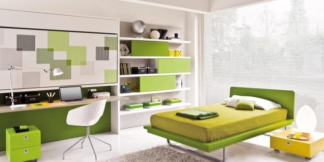 Kinderzimmer GRÜN – 40 Gestaltungsideen für Kinderzimmer