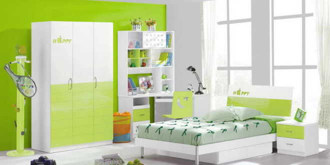 kinderzimmer grün- kinderzimmer streichen - fresHouse