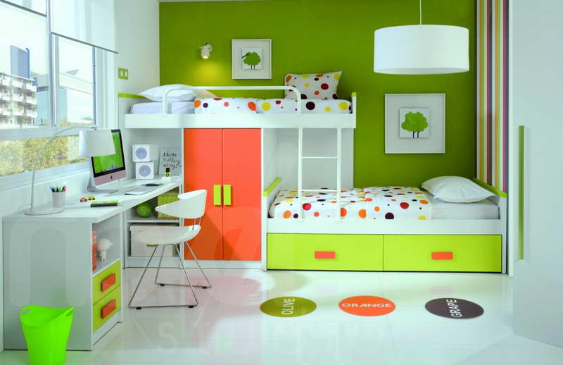 kinderzimmer gr n sch ner wohnen kinderzimmer freshouse. Black Bedroom Furniture Sets. Home Design Ideas