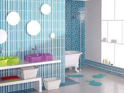 klein kinder badezimmer idee - fresHouse