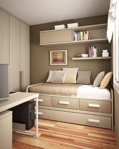 kleines schlafzimmer gestalten - fresHouse