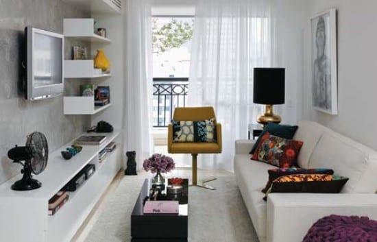 kleines wihnzimmer gestalten - fresHouse