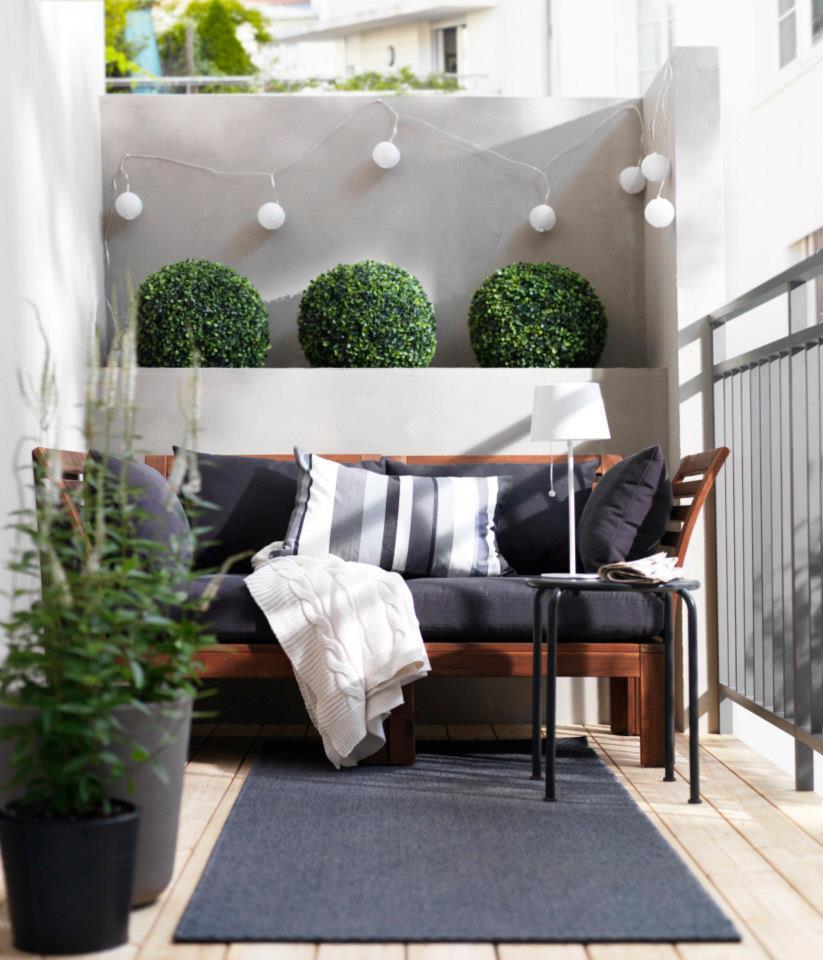 moderne design-ideen für kleine balkonen - fresHouse