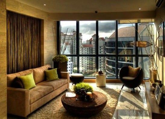 moderne einrichtungsidee-kleines wohnzimmer idee - fresHouse