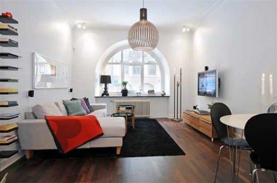 moderne wohnungsgestaltung - kleines wohnzimmer idee - fresHouse