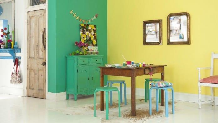 Schöner Wohnen Farbrausch - Idee Für Die Küche - Freshouse
