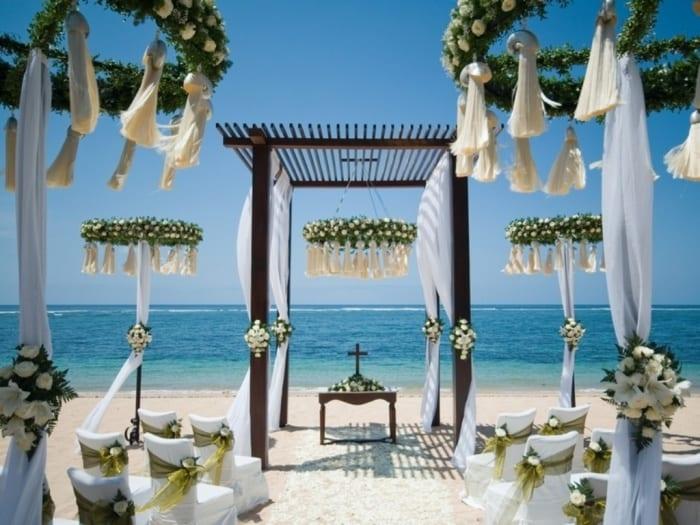 Strand Hochzeit Blumendeko Freshouse