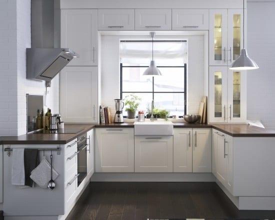 weiße Ikea küche - fresHouse