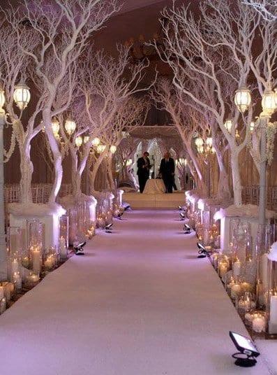 Winter Hochzeit Dekoration Freshouse