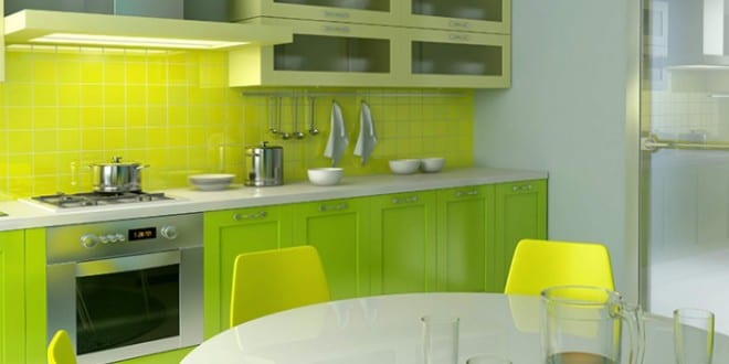 wohnungsgestaltung k che farbeinrichtung ideen freshouse. Black Bedroom Furniture Sets. Home Design Ideas
