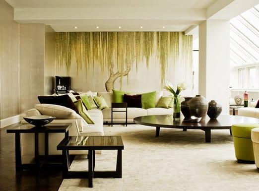 wohnzimmmer wand streichen ideen - fresHouse