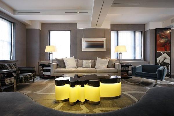 Farbe Taube   Modernes Wohnzimmer Gestalten