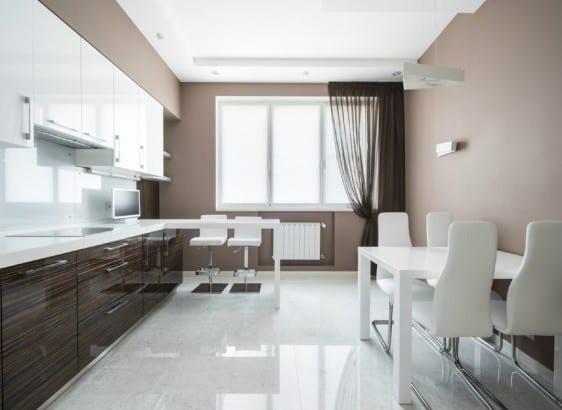 Farbgestaltung Küche   Taupe Farbe