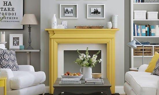 Farbgestaltung Wohnzimmer  Wohnzimmer Grau