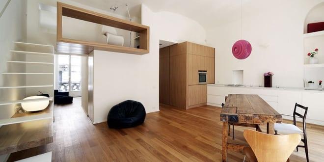 Mezzanine – offene Wohnraumgestaltung