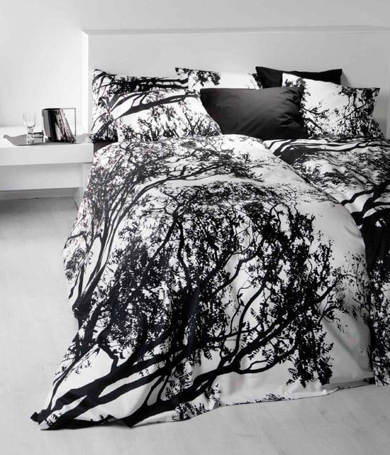 Bettwäsche Schwarz Weiß Freshouse