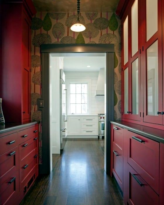 Farbgestaltung flur in rot freshouse for Farbgestaltung flur