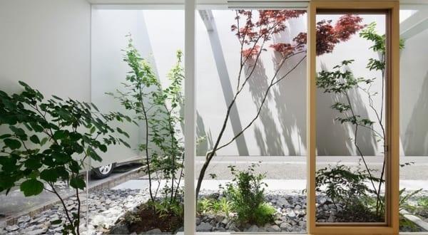 Garten im Haus – moderne Häuser mit Gartengestaltungsideen