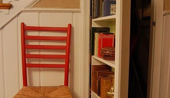 geheimraum b cherregal t r freshouse. Black Bedroom Furniture Sets. Home Design Ideas