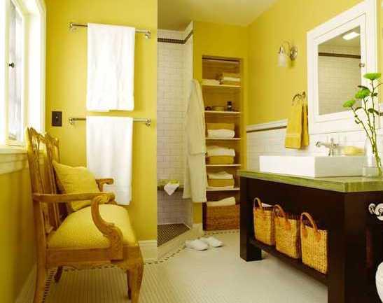 gelbe wand farbgestaltung w nde freshouse. Black Bedroom Furniture Sets. Home Design Ideas