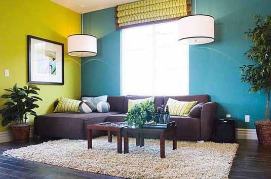 Wunderbar Gelbewand   Farbgestaltung Wohnzimmer