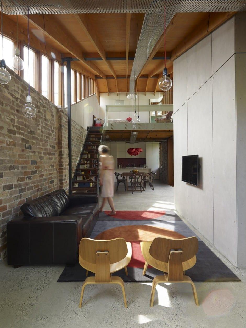 mezzanine design-offener wohnraum einrichten - fresHouse