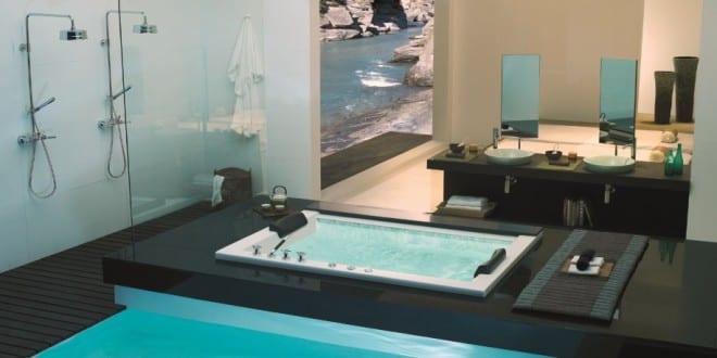 Moderne Badezimmer Einrichtung  Pool Im Bad