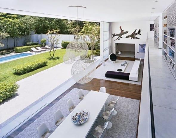 moderne mezzanine gestaltung-offener wohnraum design - fresHouse