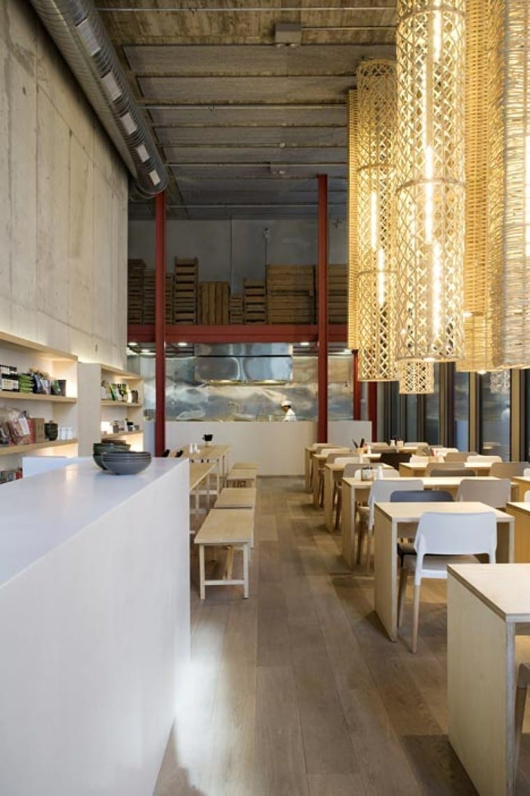 Modernes interior design idee f r restaurante freshouse for Idee interior design