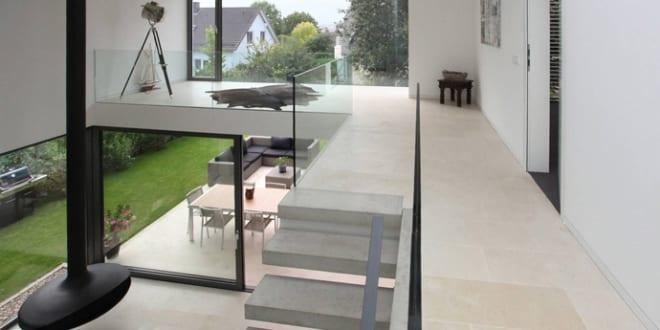 Offener Wohnraum Gestaltung Western House In Luxembourg