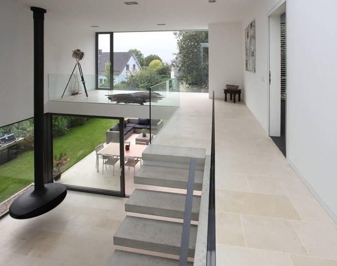 wohnraumgestaltung, offener wohnraum gestaltung-western house in luxembourg - freshouse, Design ideen