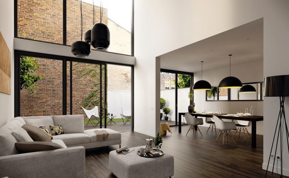 Nice Offener Wohnraum Gestaltung Modrne Wohnungsgestaltung Good Ideas