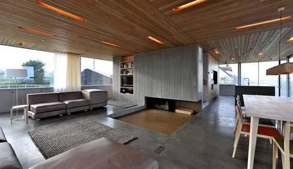 wohnraumgestaltung, offener wohnraum gestaltung-open space haus - freshouse, Design ideen