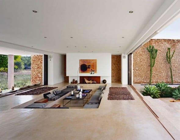 wohnraum design ideen