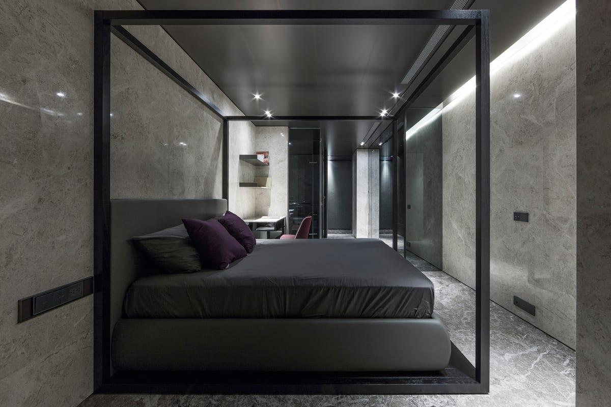 schlafzimmer einlichten schlafzimmer schwarz freshouse