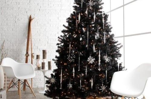 Schwarzer Weihnachtsbaum.Schwarzer Weihnachtsbaum Freshouse