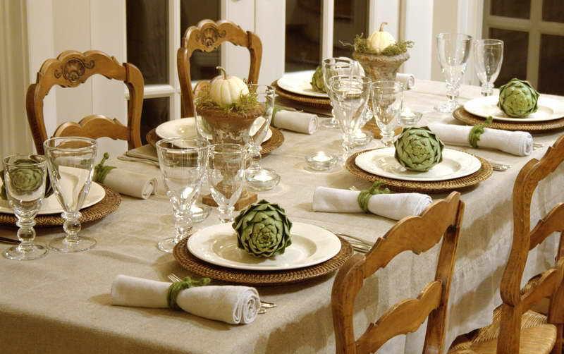 Tisch Eindecken Deko Idee Fur Den Esstisch Freshouse