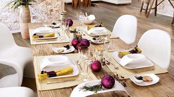 Tischdeko Idee Furs Weihnachten Freshouse