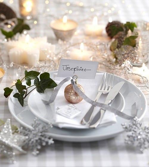 Tischdeko Idee Weihnachten Freshouse