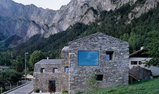 Umbauprojekt kleines Hauses in Chamoson – Savoiz Fabrizzi Architectes