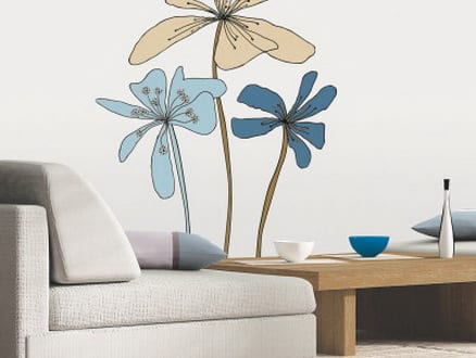 Wandtattoo Blumen U2013 Kreative Wandgestaltung