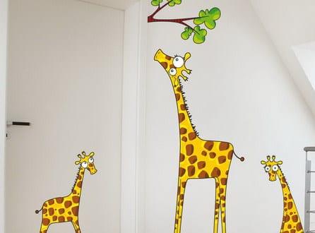 wandtattoo kinderzimmer-Giraffe - fresHouse